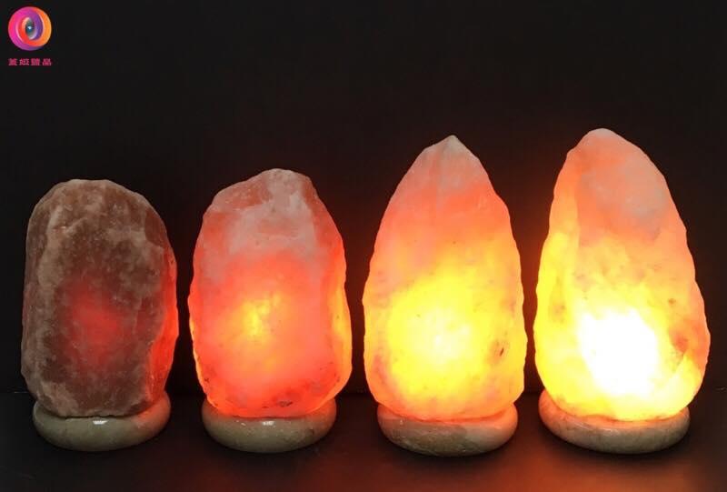 不同鹽燈等級